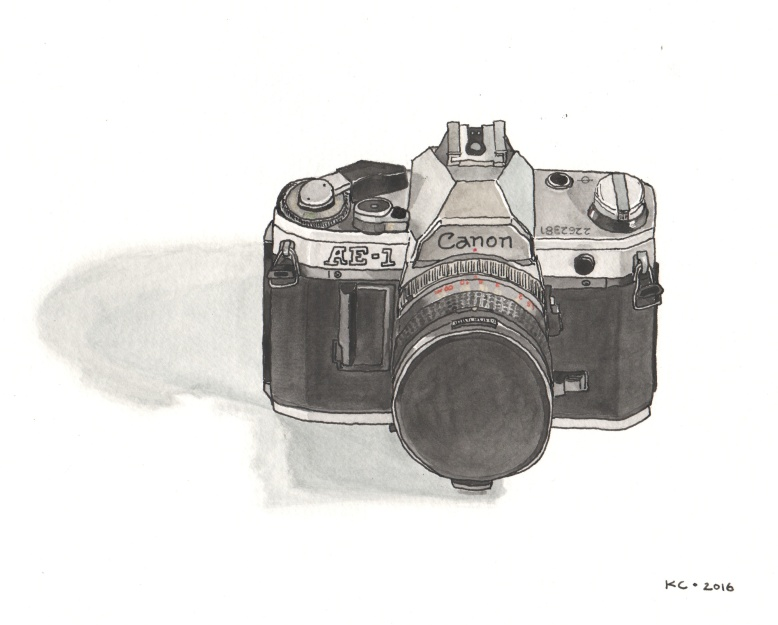 camera watercolor2